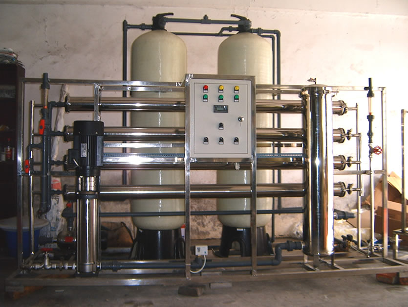 3000lph river water purification plant cost