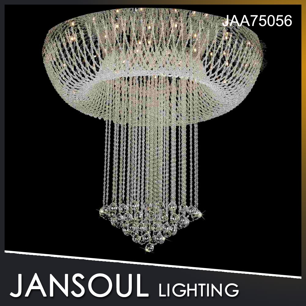 Clear Crystal luxury decorative chandelier centerpieces for wedding table event&party