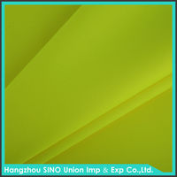 Hot sale fluorescent green polyester fabric