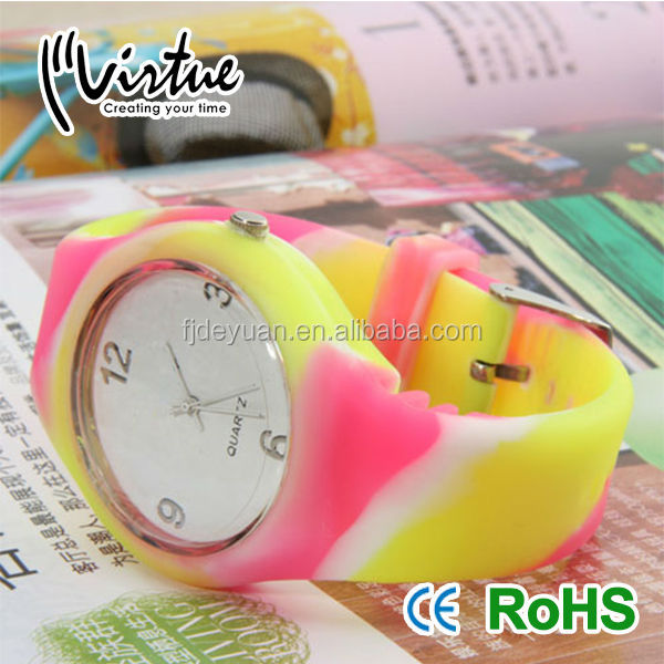 Colorful Designed ladies fancy watches