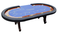 simple texas poker table/game table