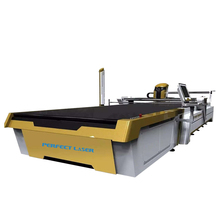 CNC Automatic Fabric Auto Cutter Used For Multilayer