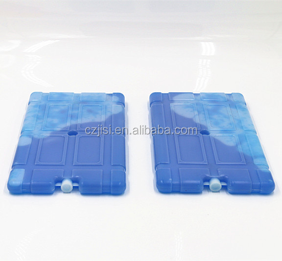Bpa free hard plastic cold accumulator ice gel pack for food frozen