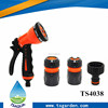 Garden water hose sprayer nozzle set car washing kit
