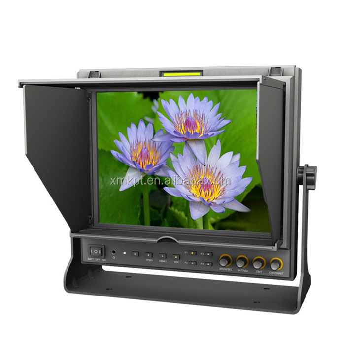 9.7 inch LED Field Monitor for Full HD Camcorder with Advanced Functions