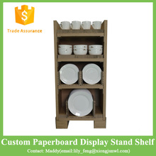 Honeycomb Paperboard Custom Showing <strong>Shelf</strong> Rack Supermarket Display Stand