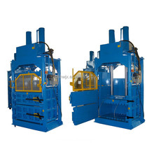Hydraulic cardboard baling press machine used clothing baling machine price