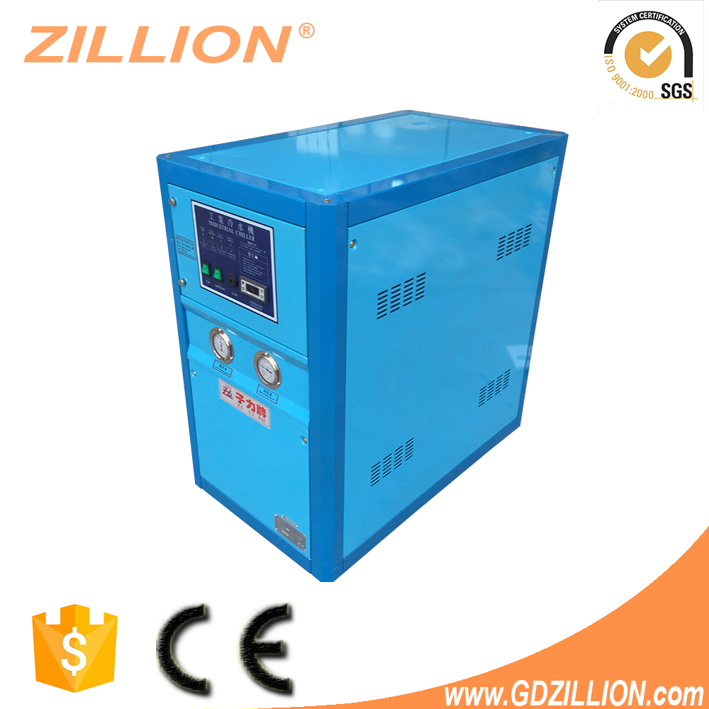 Zillion 3HP Durable 100% Non-ferrous water circuit stainless tank high-end air cooled laser water chiller