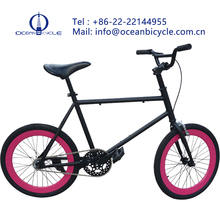 Factory direct selling road bicycle new 20 inch 40 male and female students Mini brake single fixed gear bicycle