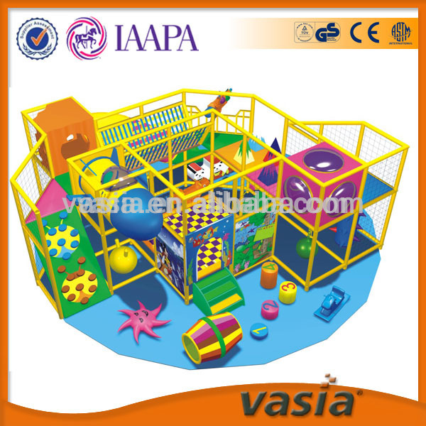 Play house and rocking chair kids indoor playground for sale