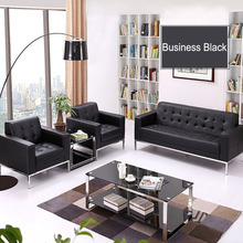 high quality China 1+2+3 sofa set lobby <strong>furniture</strong> FOH-88191