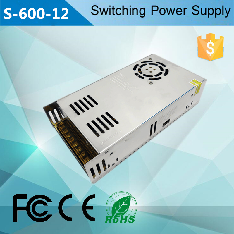 Hot selling 600w 12v switch mode power <strong>supply</strong> dc