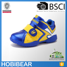 HOBIBEAR hot selling boy sneakers kids blue sport shoe wholesale