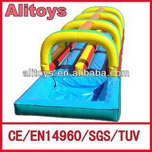 High quality inflatable slide way with pool