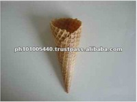 Baked Wafer Ice Cream Container for Sale