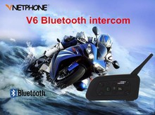 2016 New Ejeas Brand Chinese bluetooth headset driver handsfree motorcycle dect intercom for -v6