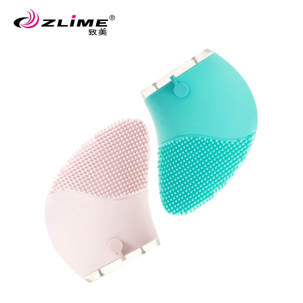 Portable Soft Silicone Facial Cleansing Brush Makeup <strong>Device</strong>