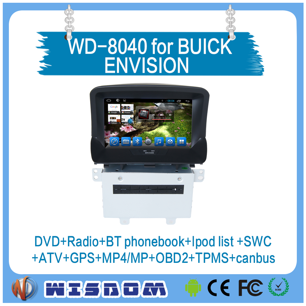 car dvd player with reversing camera Buick Encore/OPEL MOKKA 2 din car radio with navigation china car gps with bluetooth wifi