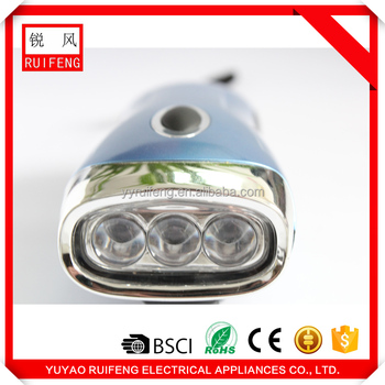 New innovative products pressing dynamo flashlight made in china alibaba