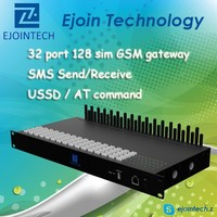 12 Months Warranty!! Ejoin 8 port gsm voip gateway GoIP 8 / 16 / 32, 4 sim card mobile phone