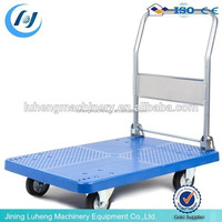 china manufacturer wholesalers steel utility cart platform trolley hand truck