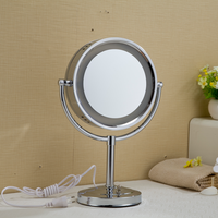 FARLO wholesale round makeup hollywood lighted mirror with led light