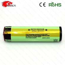 Best selling NCR18650B 3400mAh 3.7V li-ion 18650 battery protected rechargeable li-ion battery with PCB