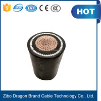 under amour 1 core PVC/XLPE cable price lift travelling cable,armoured power cable