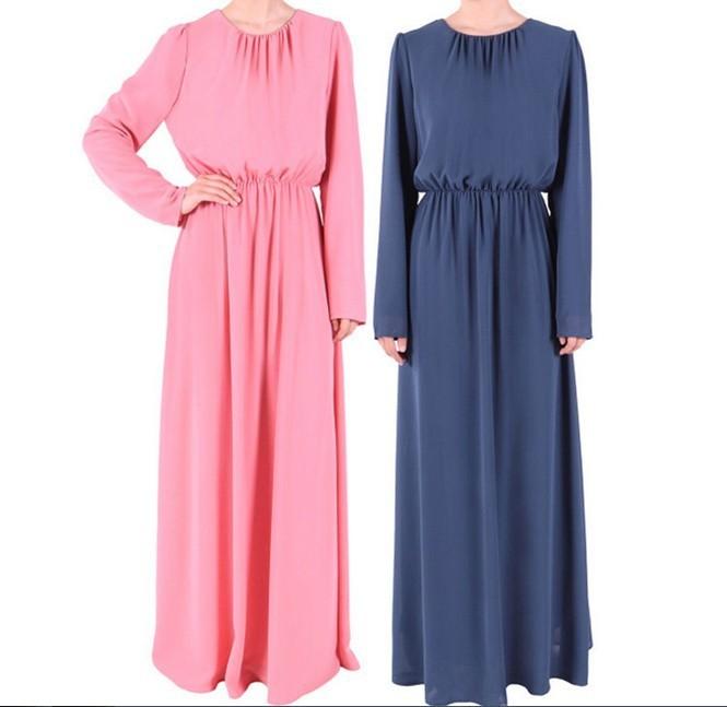 Как сшить мусульманское платье в пол 85