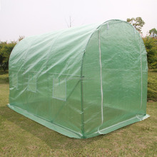 3x2x2M Polytunnel Greenhouse Fully Galvanized Steel Frame Garden Greenhouse