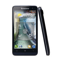 Lenovo P770 Android Phone with MTK6577 dual core Android 4.1 cheap phone 4.5inch IPS QHD screen 1GB/4GB dual sim