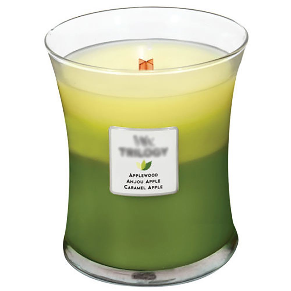 Wholesale organic scented candles with Cross Wood Wick