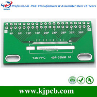 2 layers electronic circuit pcb and pcb assembly