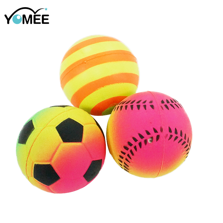 High Quality Bouncy Rubber Playground Racket Ball