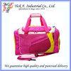 Useful Large Capacity Pink Color Sport Duffel Bag