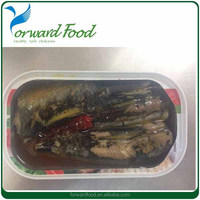 canned sardine in oil chili 125g sardine can