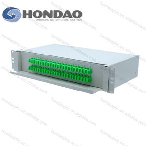 HONDAO High isolation adc 32 Cores Flame retardant waterproof 24 port fiber optic patch panel price