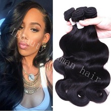 Assessed Supplier dropshipping newest good thick raw Indian hair Various Colors smooth human body wave extensions