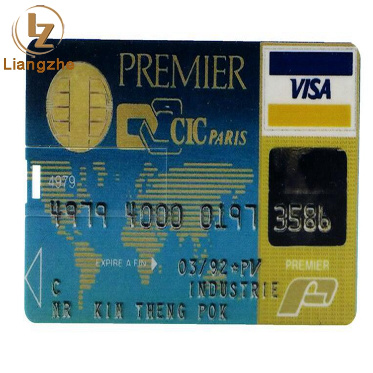 Factory Fancy Plastic Credit Card USB/OEM Logo on Business Card USB Flash Drive/Factory Best Cheap USB
