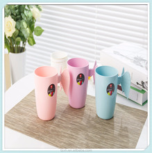 New wholesale kids plastic drinking cup with handle