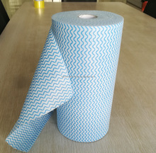 Shandong manufacturer spunlace nonwoven absorbent industrial cleaning wipes