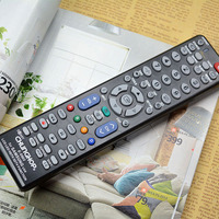 black universal LCD LED tv remote control with good quality 100% Newest