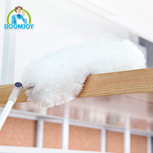 FLEXIBLE TELESCOPIC HANDLE ELECTROSTATIC MICROFIBER DUSTER
