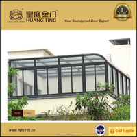 2016 china professional aluminum sun room/glass room/glass house manufacturer