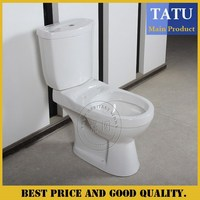 Chaozhou cheap ceramic two piece wc toilet prices