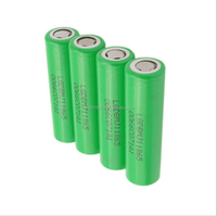 Authentic wholesale 4 X LG 18650 MJ1 3.7v 3500mAh 10A Li-ion Rechargeable Battery Flat Top
