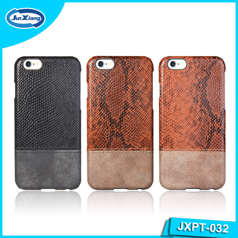 Fashion Leather Full Cover Slim Skin PC Mobile Phone Cover Case For iphone 6
