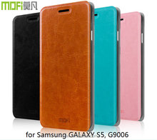 MOFi Case Housing for Samsung GALAXY S5 SM-G9006, Flip Leather Back Cover for GALAXY S5