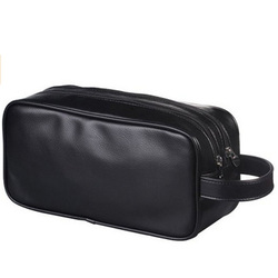 Fashion PU Leather Cosmetic Makeup Bags for Lady for Travel