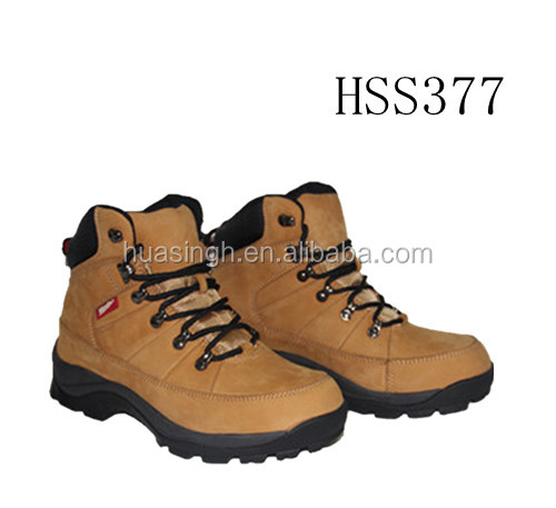 hiking and climbing lightweight sport safety shoes/sneakers waterproof